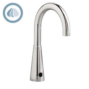 American Standard 6055.163.002 Selectronic Electronic Proximity Lavatory Faucet w/Gooseneck Spout - Chrome