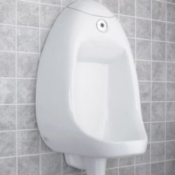 American Standard 6520.001.020 Innsbrook 0.5 Gallon Per Flush Urinal (Battery Powered) - White