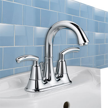 American Standard 7038.201.295 Tropic Centerset Bathroom Faucet - Satin Nickel  (Pictured in Chrome)