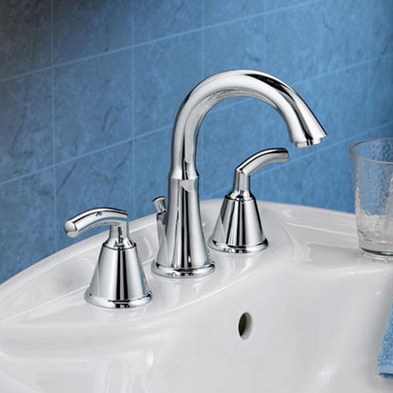 American Standard 7038 801 002 Tropic Widespread Bathroom Faucet Chrome Faucetdepot Com
