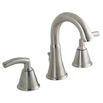 American Standard 7038.801.295 Tropic Widespread Bathroom Faucet - Satin Nickel