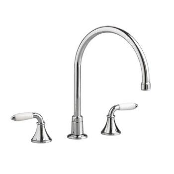 American Standard 7230.000.002 Amarilis Heritage Gooseneck Kitchen Faucet - Chrome