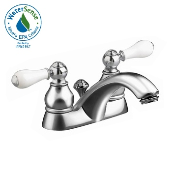 American Standard 7411.712.002 Hampton Lavatory Centerset Faucet - Chrome