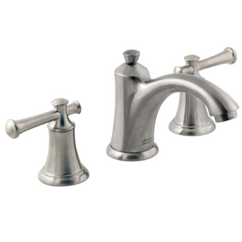 American Standard 7415.801.295 Portsmouth Widespread Lavatory Faucet with Lever Handles - Satin Nickel