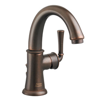 American Standard 7420.101.224 Portsmouth Monoblock Lavatory Faucet with Lever Handle - Oil Rubbed Bronze