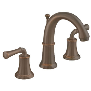 American Standard 7420.801.224 Portsmouth Widespread Lavatory Faucet with Lever Handles - Oil Rubbed Bronze