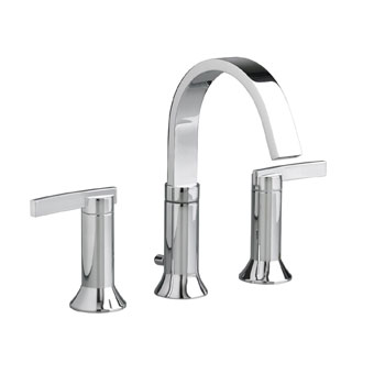 American Standard 7430.801.002 Berwick Double Lever Handle Widespread Faucet - Polished Chrome