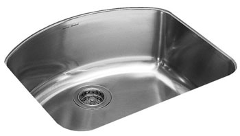 American Standard 7501.000.075 Culinaire+ Undermount Kitchen Sink - Stainless Steel