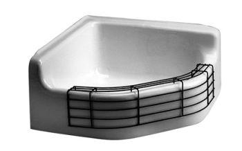 American Standard 7741.000.020 Florwell Cast Iron Service Sink   White