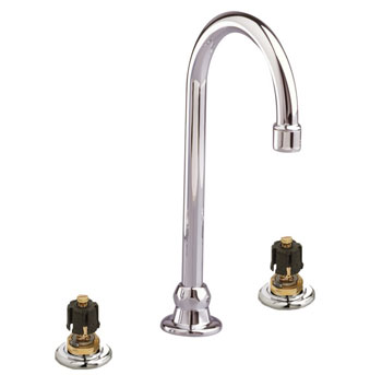 American Standard 7890.000.099 Amarilis Heritage Bottom Mount Bar Faucet - Polished Brass (Pictured in Chrome)