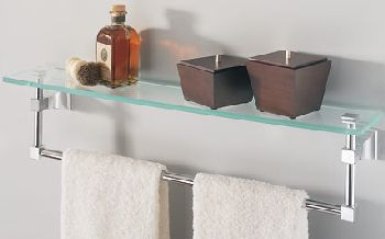 American Standard M922275-0070A Town Square Glass Shelf