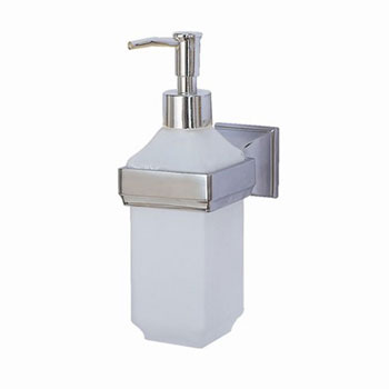American Standard M950096-0990A Town Square Soap/Lotion Dispenser Replacement Pump - Polished Brass (Pictured in Polished Chrome)