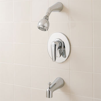 American Standard T000.502.002 Ceramix Bath/Shower Trim Kit - Chrome