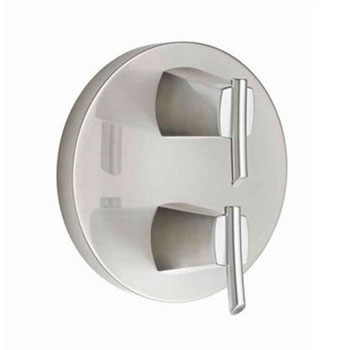 American Standard T010.740.075 Green Tea Two-Handle Thermostatic Valve Trim Kit - Chrome