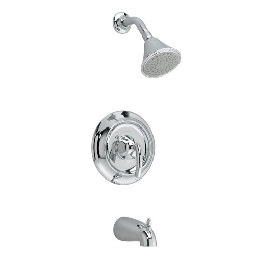 American Standard T038.502.295 Tropic Bath/Shower Trim Kit Only - Satin Nickel (Pictured in Chrome)