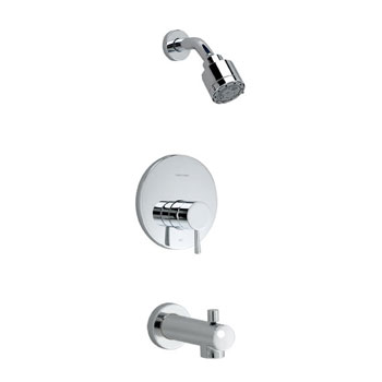 American Standard T064.502.295 'One' Bath/Shower Trim Kit - Satin Nickel (Pictured in Chrome)