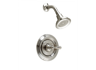 American Standard T212.730.002 Hampton Shower Only Trim Kit - Chrome (Pictured in Satin Nickel)