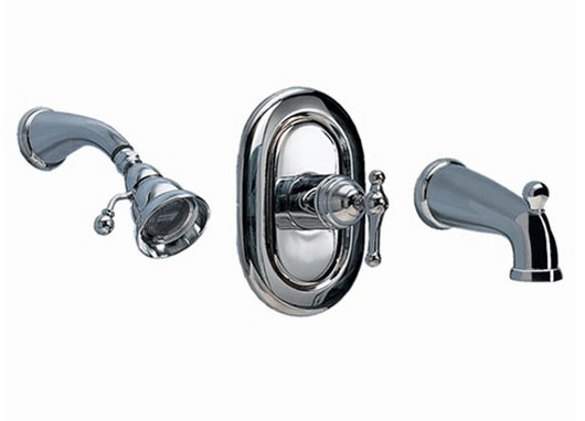 American Standard T373.502.002 Enfield Bath/Shower Trim Kit - Chrome