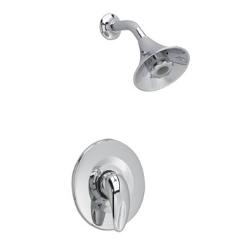 American Standard T385.507.002 Reliant 3 Shower Only Trim Kit with Flowise Water Saving Showerhead - Chrome