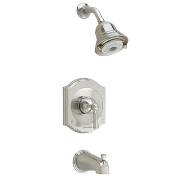 American Standard T415.502.295 Portsmouth FloWise Bath/Shower Trim Kit - Satin Nickel