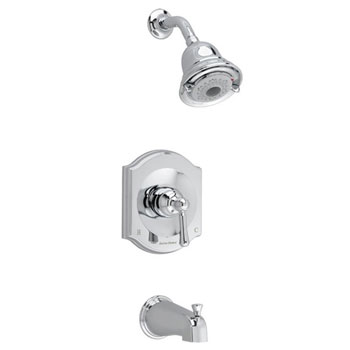 American Standard T415.502.002 Portsmouth FloWise Bath/Shower Trim Kit - Chrome