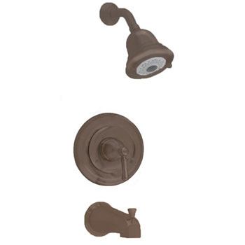 American Standard T420.502.224 Portsmouth FloWise Bath/Shower Trim Kit - Oil Rubbed Bronze