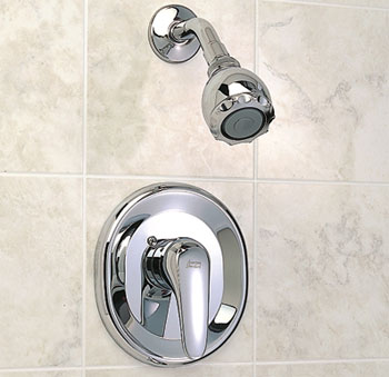 American Standard T480.501.295 Seva Shower Only Trim Kit - Satin Nickel (Pictured in Chrome)