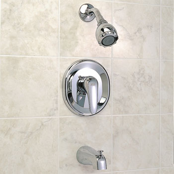 American Standard T480.502.295 Seva Bath/Shower Trim Kit Only - Satin Nickel (Pictured in Chrome)