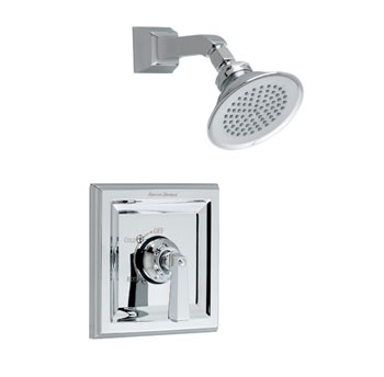 American Standard T555.501.295 Town Square Shower Only Trim Kit - Satin Nickel  (Pictured in Chrome)