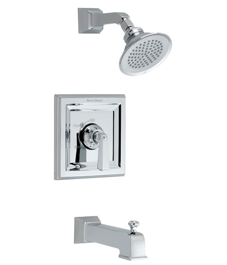 American Standard T555.502.295 Town Square Bath/Shower Trim Kit - Satin Nickel (Pictured in Chrome)