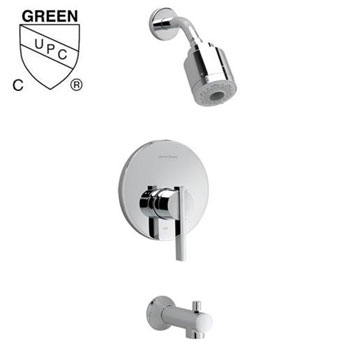 American Standard T430.508.295 Berwick FloWise Bath/Shower Trim Kit - Satin Nickel (Pictured in Chrome)