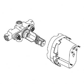 American Standard R530 Ceratherm Thermostatic Valve Body