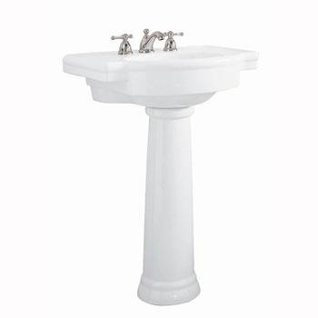 American Standard 0282.800.020 Retrospect Complete Pedestal Sink - White