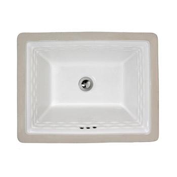 American Standard 0615.000.020 Rattan Undercounter Sink - White