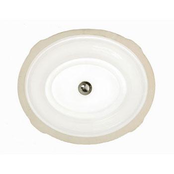 American Standard 0632.000.020 Tudor Undercounter Sink - White