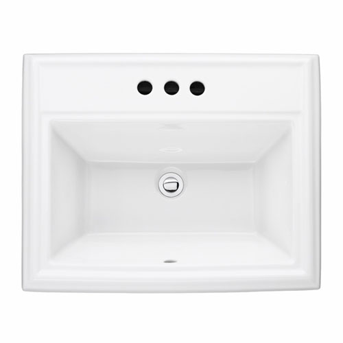 American Standard 0700.008.020 Town Square Countertop Sink - White
