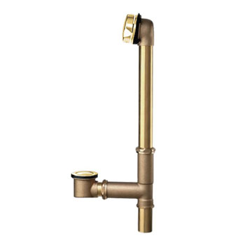 American Standard 1583.470.099 Universal Drain - Polished Brass