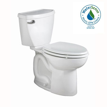 American Standard 2235.813US Cadet 3 FloWise Right Height Elongated Toilet - White