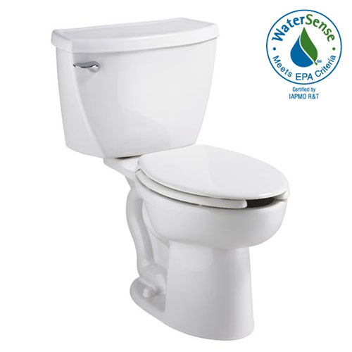 American Standard 2462.100.020 Cadet Flowise Pressure Assisted Elongated Toilet - White