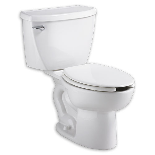 American Standard 2467.100.020 Cadet 1.1 gpf FloWise Right Height Pressure Assisted Elongated Toilet - White
