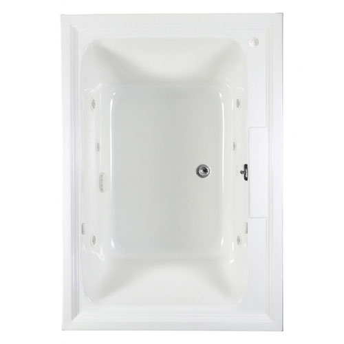 American Standard 2748.048WC.020 Town Square 5 ft x 42 in EcoSilent Whirlpool - White