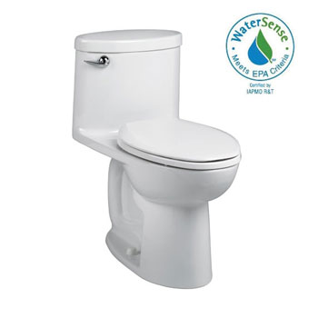 American Standard 2768.128.020 Cadet 3 Ovation One-Piece Tall Height Elongated Toilet - White