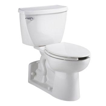 american standard yorkville elongated toilet white