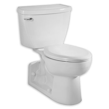 American Standard 2878.100.020 Yorkville 1.1 gpf FloWise Right Height Pressure Assisted Elongated Toilet - White