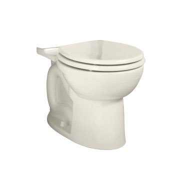 American Standard 3005.001.222 Cadet-3 Right Height Round Toilet Bowl Only - Linen