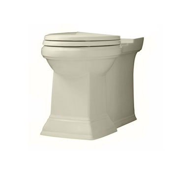 American Standard 3071.000.222 Town Square Right Height Elongated Bowl with 2 Bolt Covers - Linen