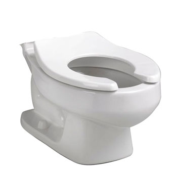 American Standard 3128.001 Baby Devoro Round Toilet Bowl Only - White