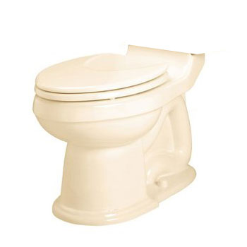American Standard 3153.016.021 Oakmont Champion 4 Elongated Toilet Bowl Only - Bone