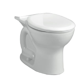 American Standard 3517B.101.020 Cadet Pro Right Height Round Toilet Bowl Only - White
