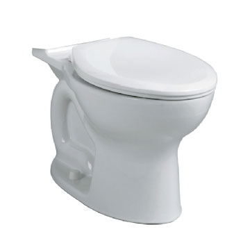 American Standard 3517C.101.020 Cadet Pro Elongated Toilet Bowl Only - White